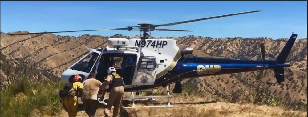 Cold Canyon Rescue by Nancy Maty, Solano County Search and Rescue